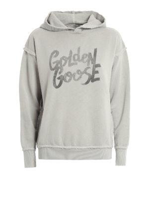 Golden Goose: Sweatshirts & Sweaters - Marina oversize hoodie