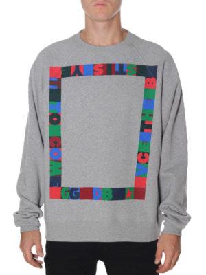 Golden Goose: Sweatshirts & Sweaters online - Alfred printed cotton sweatshirt