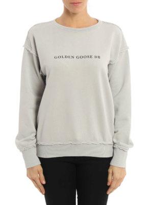 Golden Goose: Sweatshirts & Sweaters online - Dolphin oversize sweatshirt