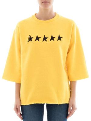 Golden Goose: Sweatshirts & Sweaters online - Liliana GGDB embroidery sweatshirt