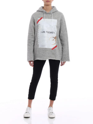 Golden Goose: Sweatshirts & Sweaters online - Loreta I Like Mistakes hoodie