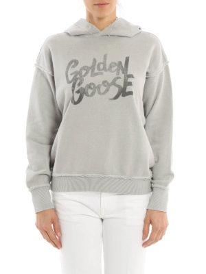 Golden Goose: Sweatshirts & Sweaters online - Marina oversize hoodie
