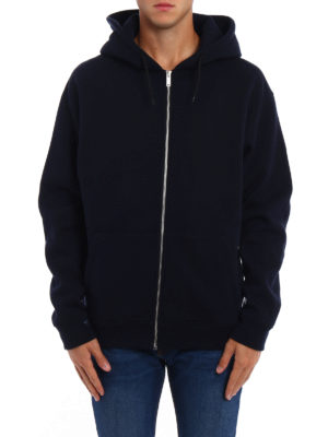 Golden Goose: Sweatshirts & Sweaters online - Peyton zipped cotton hoodie