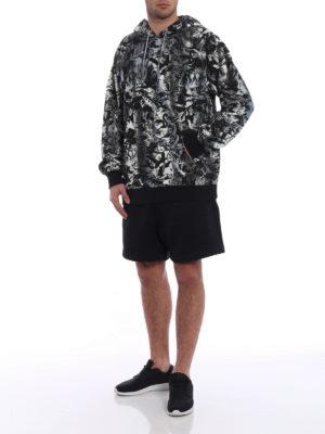 Golden Goose: Sweatshirts & Sweaters online - Philip printed cotton hoodie