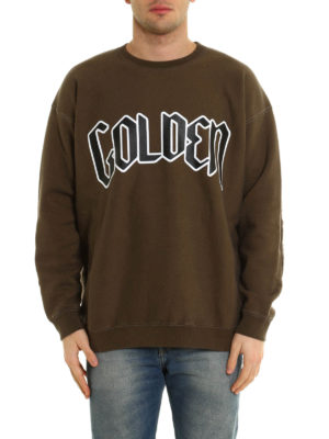 Golden Goose: Sweatshirts & Sweaters online - Printed cotton sweatshirt