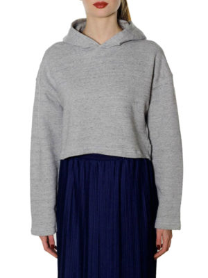Golden Goose: Sweatshirts & Sweaters online - Rufina cropped hoodie