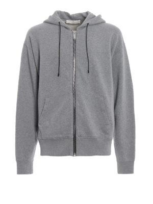 Golden Goose: Sweatshirts & Sweaters - Peyton maxi logo cotton hoodie