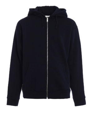 Golden Goose: Sweatshirts & Sweaters - Peyton zipped cotton hoodie