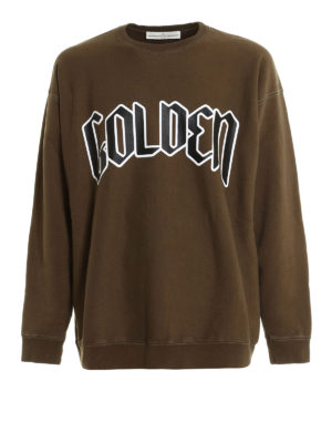 Golden Goose: Sweatshirts & Sweaters - Printed cotton sweatshirt