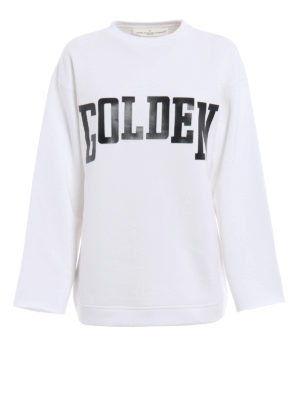 Golden Goose: Sweatshirts & Sweaters - Raw cut sweatshirt