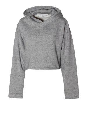 Golden Goose: Sweatshirts & Sweaters - Rufina cropped hoodie