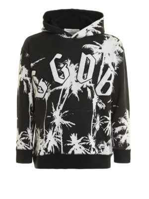 Golden Goose: Sweatshirts & Sweaters - Textured printed cotton sweatshirt