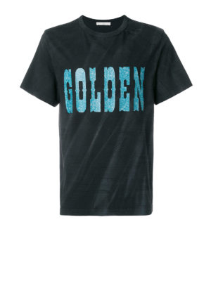 Golden Goose: t-shirts - Golden cotton T-shirt
