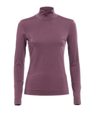 Golden Goose: t-shirts - Iman high collar T-shirt