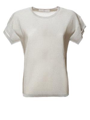 Golden Goose: t-shirts - Lurex T-shirt