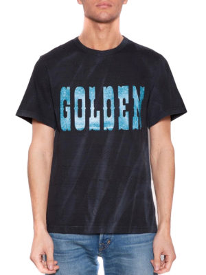 Golden Goose: t-shirts online - Golden cotton T-shirt
