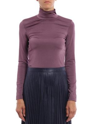Golden Goose: t-shirts online - Iman high collar T-shirt