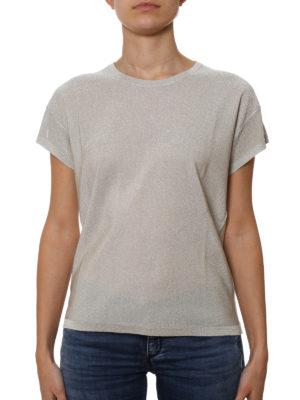 Golden Goose: t-shirts online - Lurex T-shirt