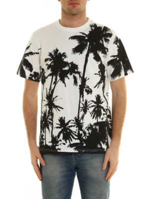 Golden Goose: t-shirts online - Printed cotton T-shirt
