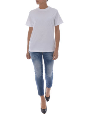 Golden Goose: t-shirts online - Side rubberized zip T-shirt
