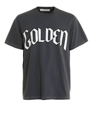 Golden Goose: t-shirts - Printed cotton T-shirt