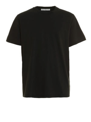 Golden Goose: t-shirts - Rear print cotton T-shirt