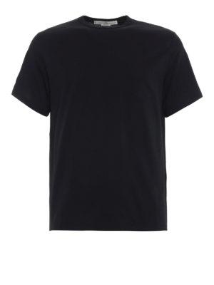 GOLDEN GOOSE: t-shirt - T-shirt con stampa a contrasto