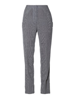 Golden Goose: Tailored & Formal trousers - Armida Prince of Wales trousers