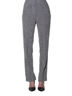Golden Goose: Tailored & Formal trousers online - Armida Prince of Wales trousers
