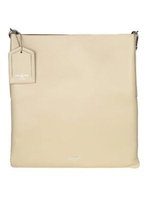 GOLDEN GOOSE: shopper - Shopper hobo in pelle colore sabbia