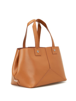Golden Goose: totes bags online - Golden smooth leather tote