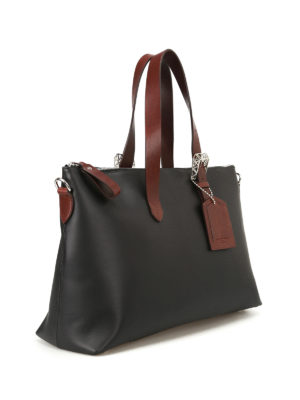 Golden Goose: totes bags online - The Darcy matte leather tote
