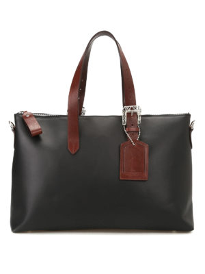 Golden Goose: totes bags - The Darcy matte leather tote