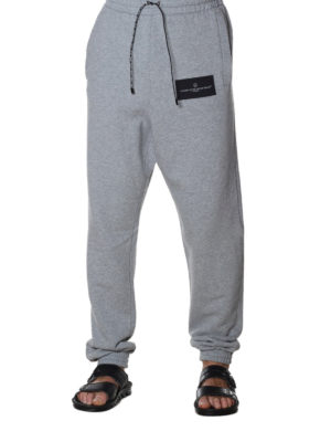 Golden Goose: tracksuit bottoms online - Sam grey tracksuit bottoms