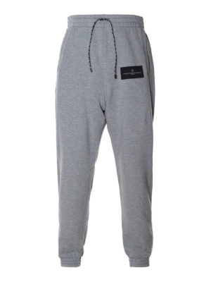 Golden Goose: tracksuit bottoms - Sam grey tracksuit bottoms