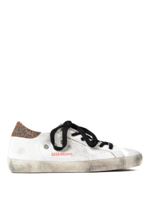 Golden Goose: trainers - Archive leo detail sneakers