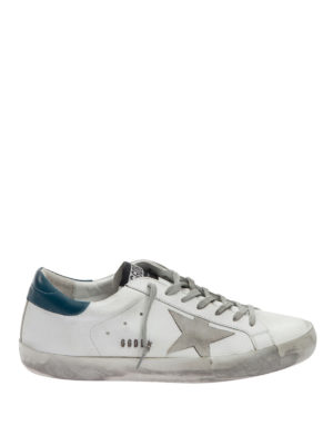 Golden Goose: trainers - Distressed leather sneakers