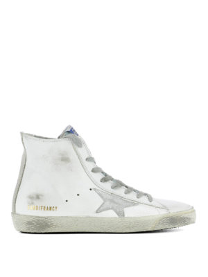 Golden Goose: trainers - Francy high-top leather sneakers