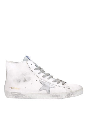 Golden Goose: trainers - Francy high top leather sneakers