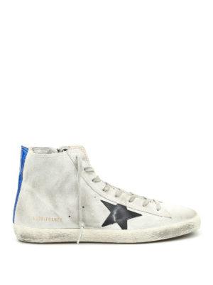 Golden Goose: trainers - Francy high top suede sneakers