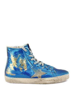 Golden Goose: trainers - Francy laminated fabric sneakers
