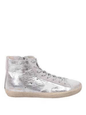 Golden Goose: trainers - Francy metallic sneakers