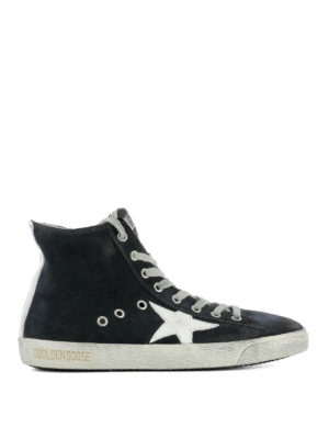 Golden Goose: trainers - Francy navy leather sneakers