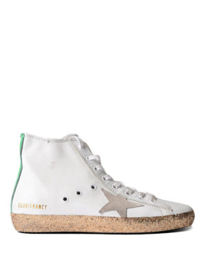 Golden Goose: trainers - Francy sneakers with glitter sole