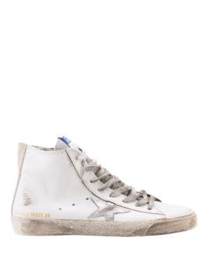 GOLDEN GOOSE: sneakers - Sneaker Francy con stella grigia