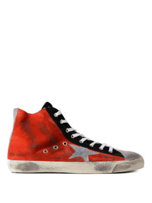 Golden Goose: trainers - Francy suede sneakers