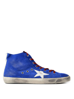 Golden Goose: trainers - Francy white detailed sneakers