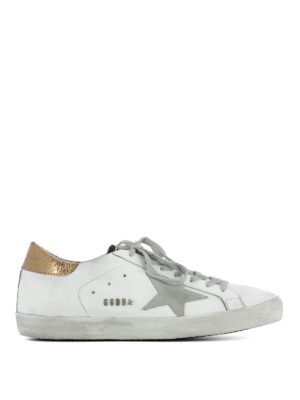 Golden Goose: trainers - Golden insert Superstar sneakers