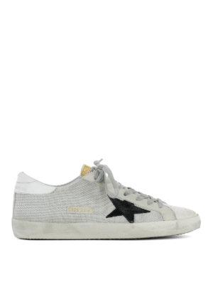 Golden Goose: trainers - Grey Superstar sneakers