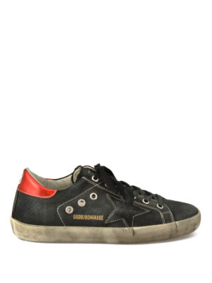 Golden Goose: trainers - Hommage canvas sneakers